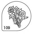 Трафареты для каппучино (MASK 109)