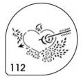 Трафареты для каппучино (MASK 112)