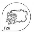 Трафареты для каппучино (MASK 126)